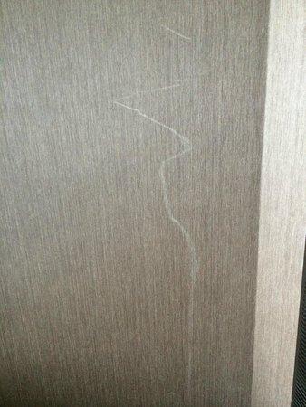 ARIA Resort & Casino: Damaged wall