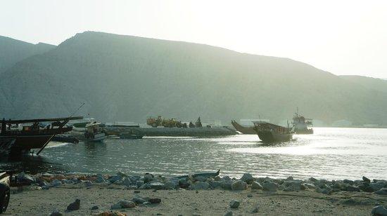 Oman Fjords : KHASAB ROAD