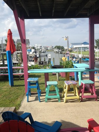 Caribbe Inn: Great view looking onto the boat docks