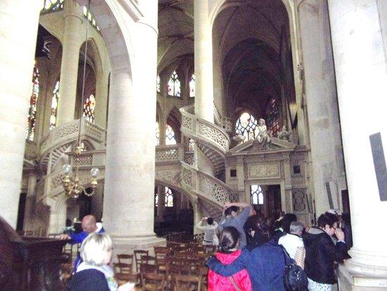 Saint-Étienne-du-Mont : interno della chiesa