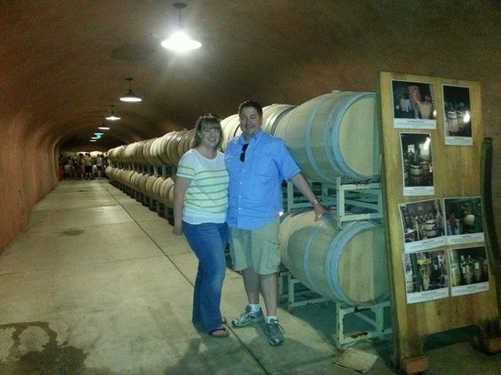 Benziger Family Winery : The wine cave at Benzinger Family Winery (08/2014)