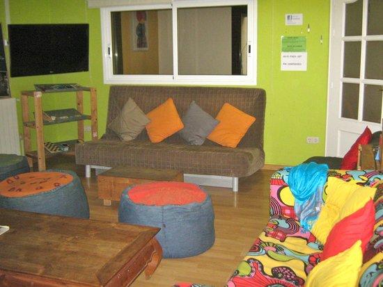 Itaca Hostel: Salle commune