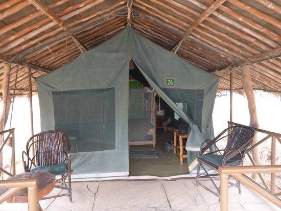Kibo Safari Camp: Tent