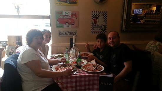 Little Italy: Comida de familia en inverness