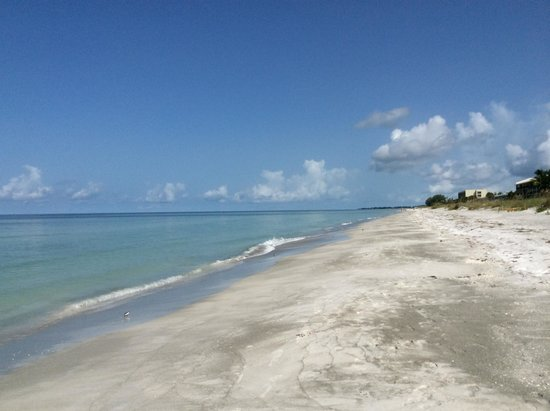 Gulf Tides of Longboat Key: Quiet beach