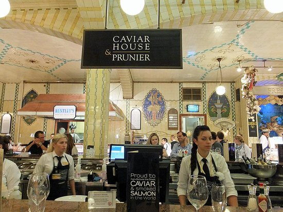 Caviar House Oyster Bar: Caviar House & Prunier da Harrods