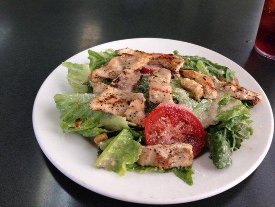 Mama Mia: Chicken Caesar salad