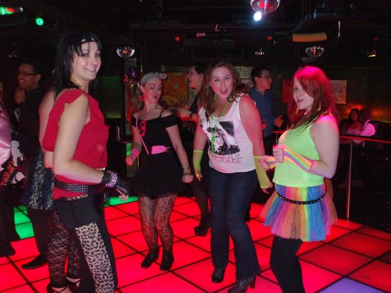 The Loop Bar: 80's themed hen night in Boogie Wonderland