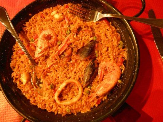Tchin-Tchin : paella di pesce