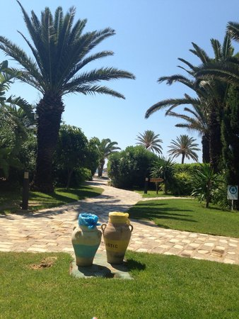 SENTIDO Phenicia: The path to the beach and Lunch Restaurant