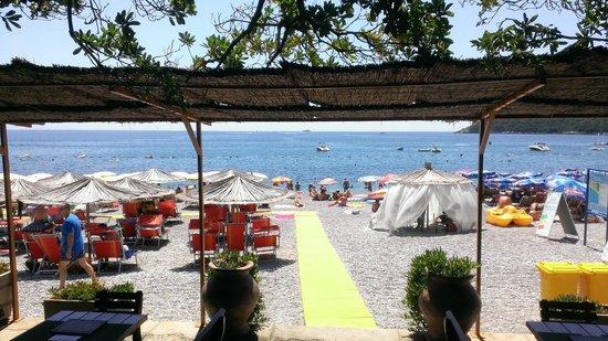 Hotel Poseidon : Beach area