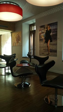 Bohem Art Hotel: reception