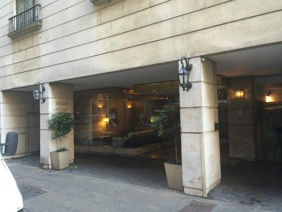 لوي سويتس أرينالس: Fachada do hotel