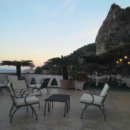 Il Saraceno Grand Hotel: grande terrazza