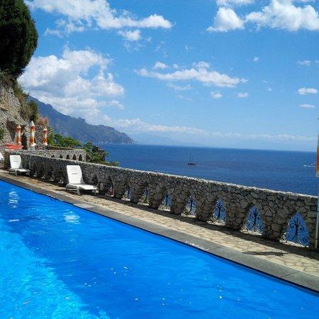 Il Saraceno Grand Hotel: la piscina