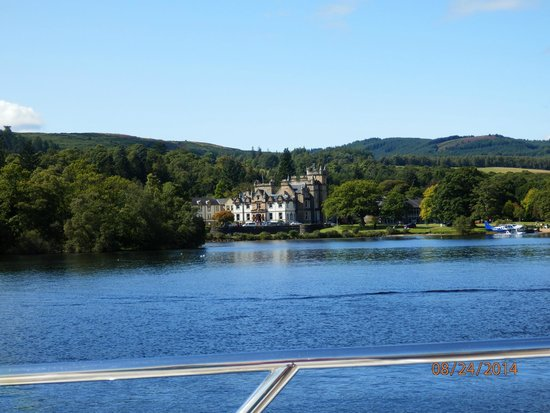 Cameron House on Loch Lomond : From the boat