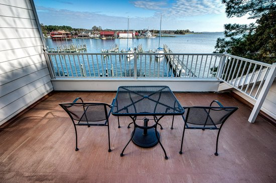 St. Michaels Harbour Inn Marina & Spa: view