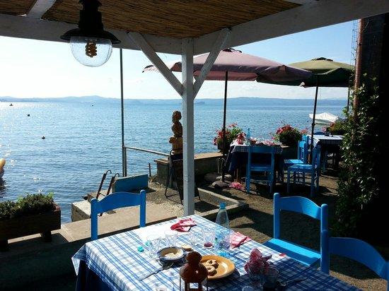 La Capanna del Pescatore PESCATURISMO: Great lunch on the lake