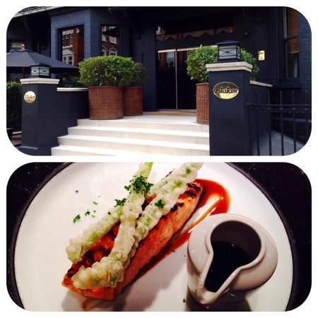Tariyake Salmon @ Blakes Hotel London