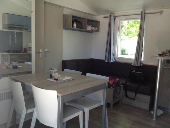 Camping Sandaya Riviera d'Azur: Intérieur bungalow
