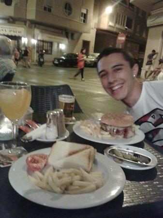 Eden Mar: Cena estupenda en la terraza del hotel en la mejor compañía