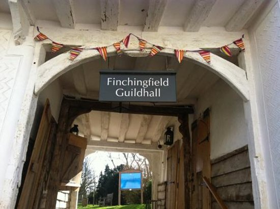 Finchingfield, UK: Restored Guildhall with interactive museum