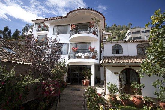 Encantada Casa Boutique Spa: Vista panorámica del Hotel