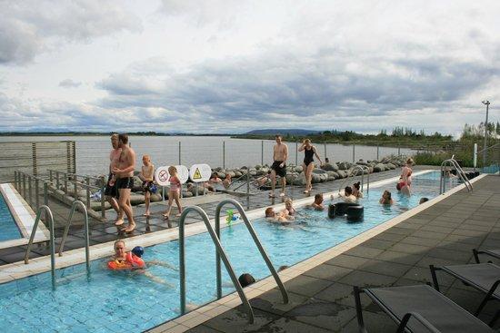 Laugarvatn Fontana Geothermal Baths: Some of the Spa baths