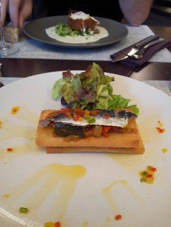 Le P'tit B: Mille-feuille de sardine