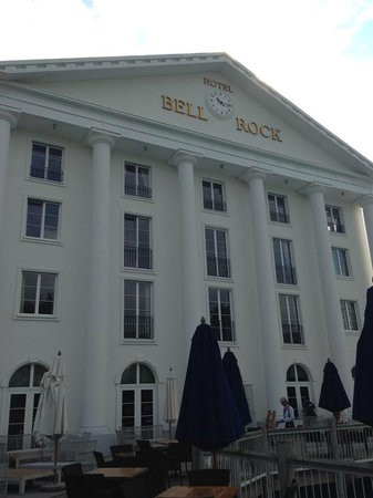Hôtel Bell Rock : Hotel main building