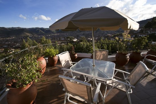 Encantada Casa Boutique Spa: Terrace