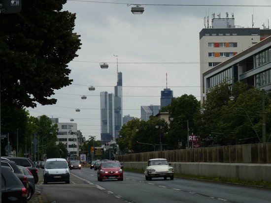 Advena Motel Frankfurt : The city centre is so close