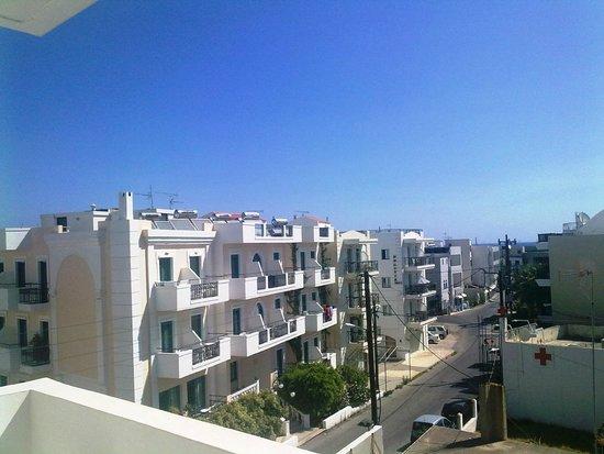 Hotel Sonia Mare : вид с балкона