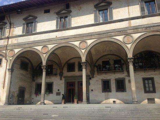 Hotel Loggiato dei Serviti: Здание отеля