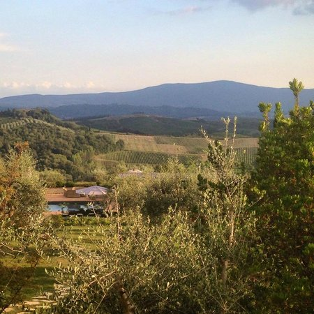 Locanda Le Piazze: view from room