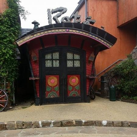 Grounds For Sculpture : Rats Restaurant - so quaint and charming!