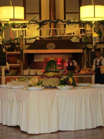 Hotel Club Santa Sabina : Frutta al ristorante
