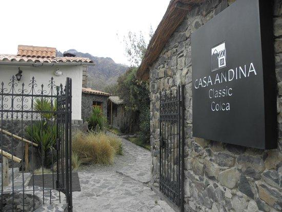 Casa Andina Classic Colca: Entrada do Hotel