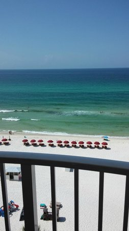 Palmetto Inn & Suites : Balcony view