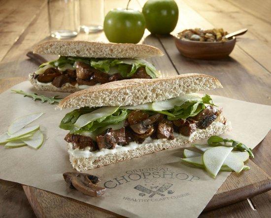 Original ChopShop: Tri-Tip Sandwich