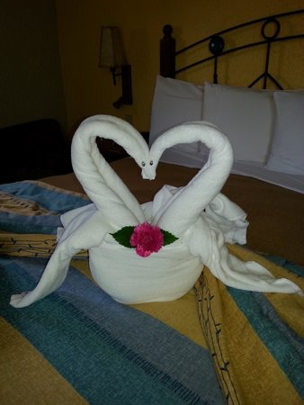 Iberostar Cozumel: The cleaning lady an artist!