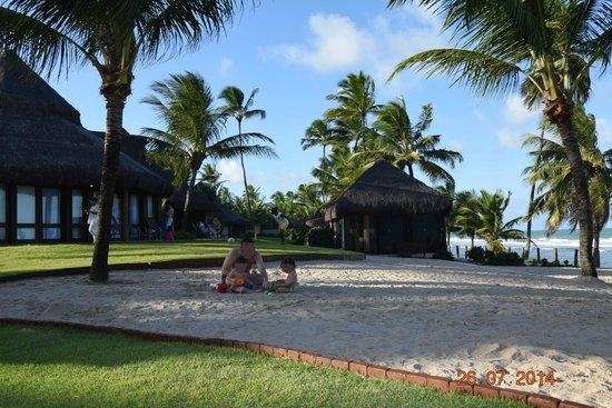 Summerville Beach Resort: Bangalôs beira da praia