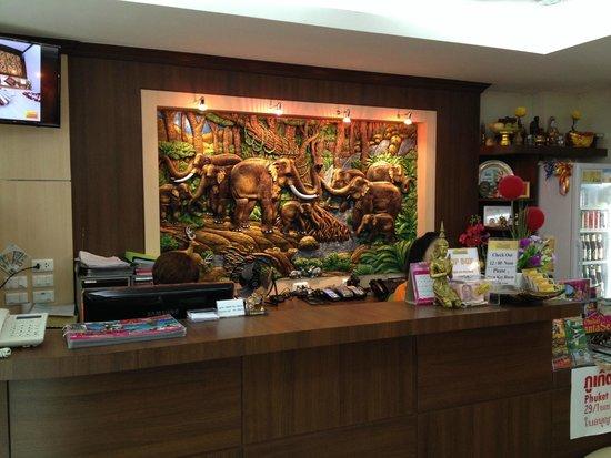 Patong Mansion Hotel : hall