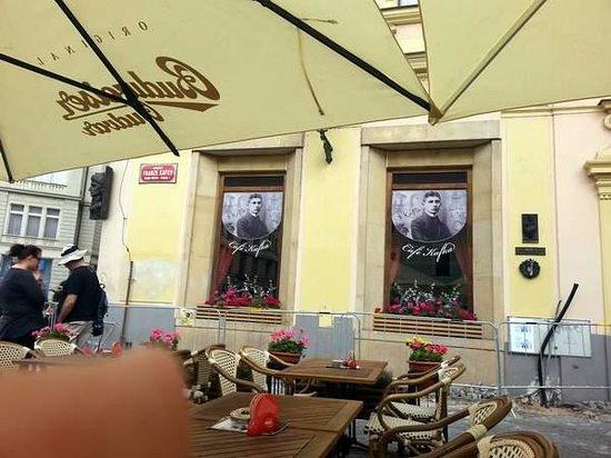 Cafe Franz Kafka: Endroit à éviter