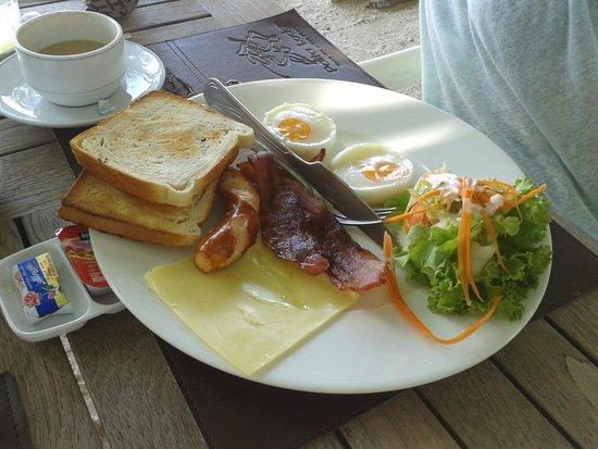 Palita Lodge: breakfast