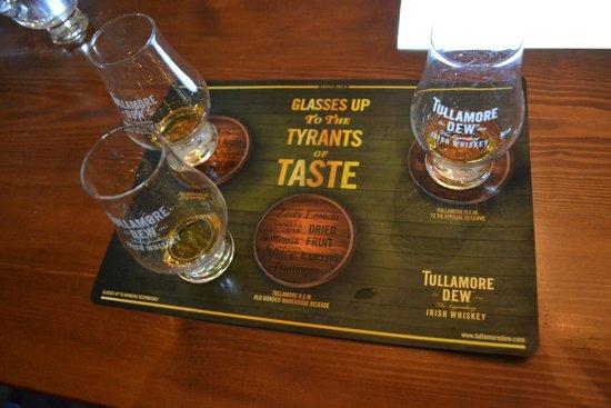 Tullamore Dew: Samples!