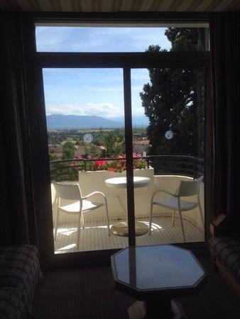 Domaine de Divonne : Hotel balcony