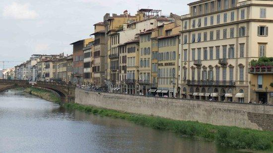 Hotel Berchielli: Berchielli from the Ponte Vecchio