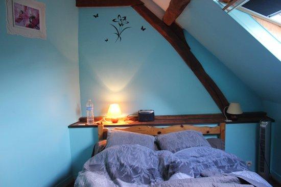La Ferme du Manoir: stanza blu