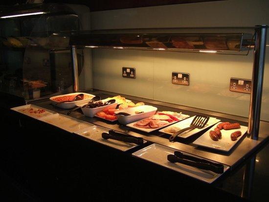 Premier Inn Ayr A77/Racecourse Hotel: Breakfast